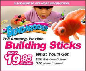 Bendaroos 300 x 250 Image Banner