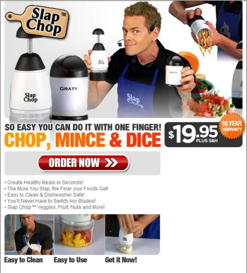 Slap Chop - Top 5 Affiliate Offers