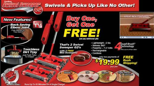 Swivel Sweeper® Affiliate Program