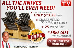 Ronco Six Star Knives Affiliate Program