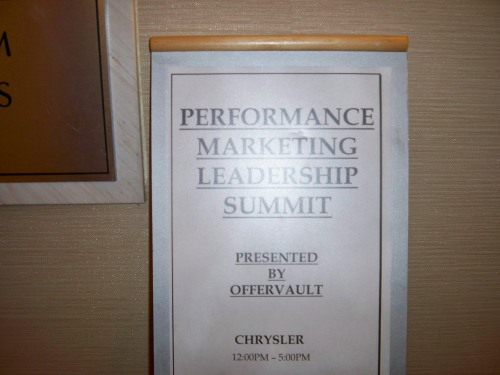 Performance Marketing Leadership Summit 2009