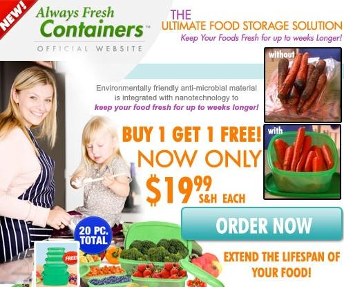 Always Fresh Containers™ Affiliate Banner