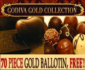 Godiva Chocolates Affiliate Banner