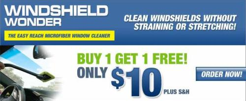 Windshield Wonder Affiliate Banner