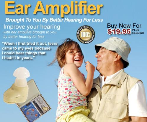 Better Hearing 4 Less Ear Amplifier