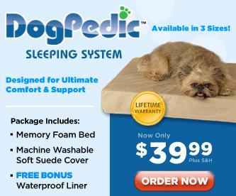 DogPedic™ Sleeping System